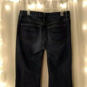 Women's Gap long and lean jeans